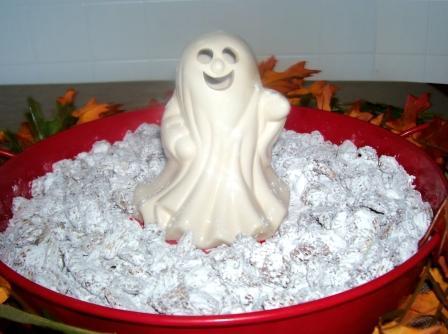 small spooky statue