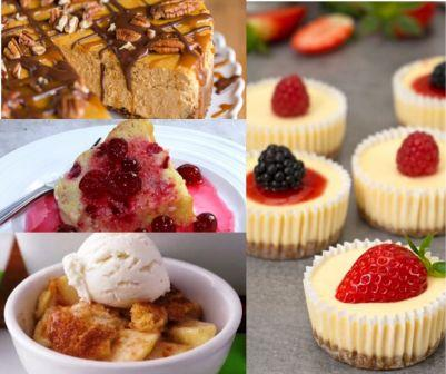 7 Easy Thanksgiving Dessert Recipes
